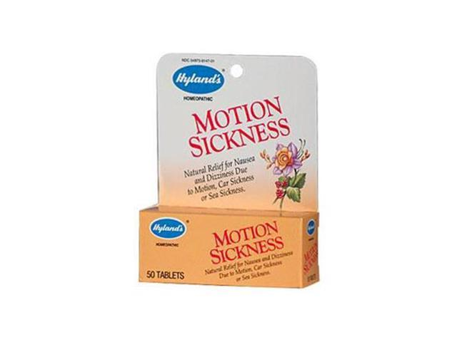 Hylands HG0392126 Motion Sickness - 50 Tablets