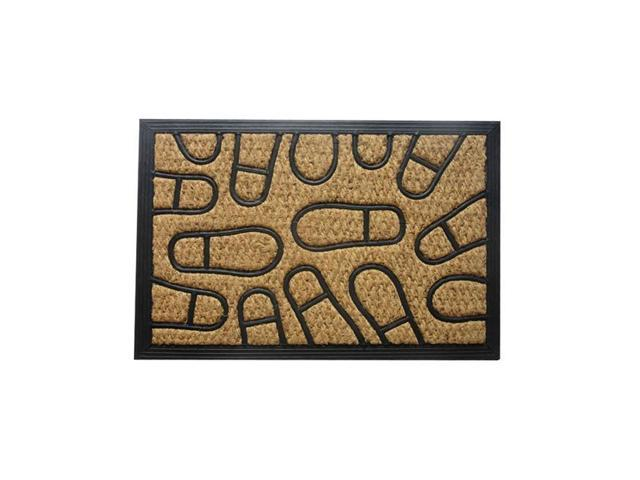 Amber Home Goods CX-1175-75 30 x 18 in. Footprint Floormat