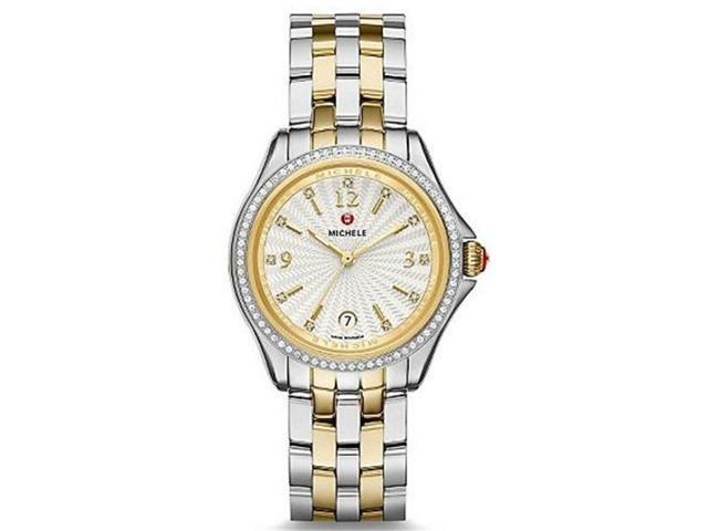 Michele Belmore Two-Tone Ladies Watch MWW29A000009