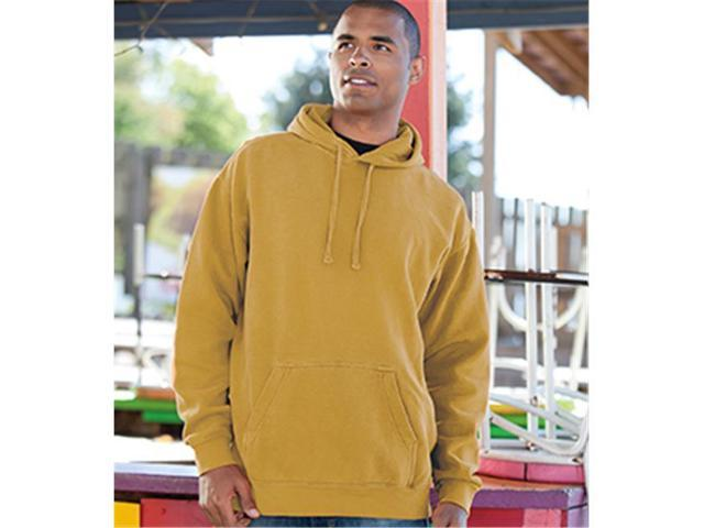 Comfort Colors 1567 Chouinard Adult Fleece Pullover Hood, True Navy, Medium