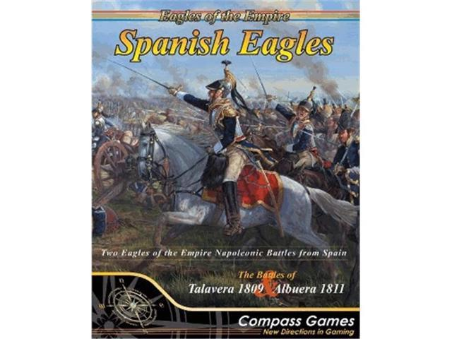Compass Games CPA1004 Spanish Eagles Board Games - Newegg.com