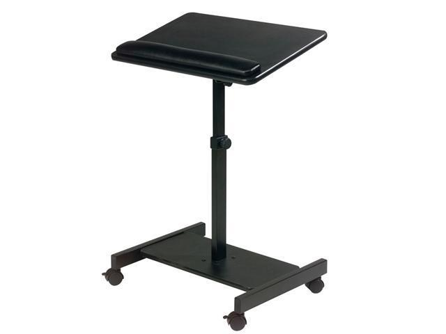 Scamp Speaker Stand 24w x 18d x 27 to 43h Black
