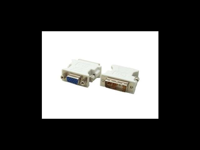 DVI-A Male to VGA HD15 Female adapter - Converts from DVI to VGA / VGA to DVI