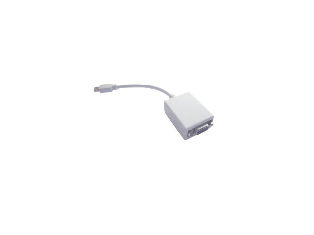 Mini DVI (for Apple) to Regular VGA Female Adapter - 6 Inches