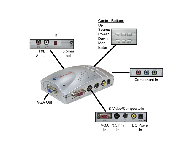 Offex composite video s video to vga converter rca female s offex composite video s video to vga converter rca female s sciox Gallery