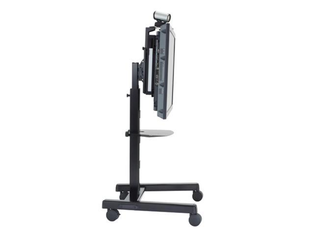 Chief PFCUS 4' - 6' LFP Flat Panel Display Mobile Cart Silver