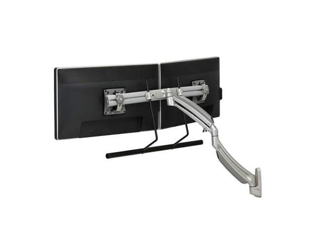 Chief K1 Wall MNT Dual Disp 2l Arm H-Array Silver