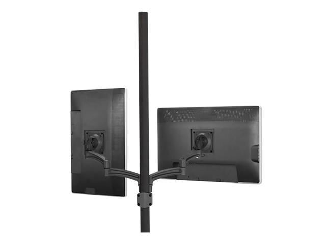 Chief K2 Pole MNT Dual Disp Dual 2l Arms Black