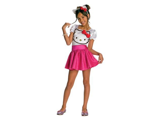 Hello Kitty Tutu Costume Dress Child Large 12-14