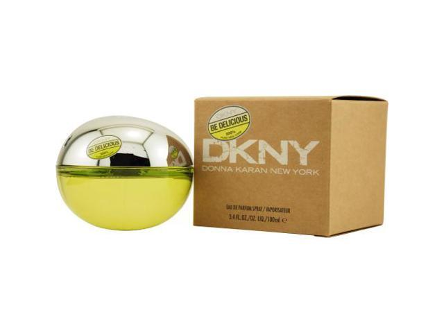 DKNY BE DELICIOUS by Donna Karan EAU DE PARFUM SPRAY 3.4 OZ for WOMEN