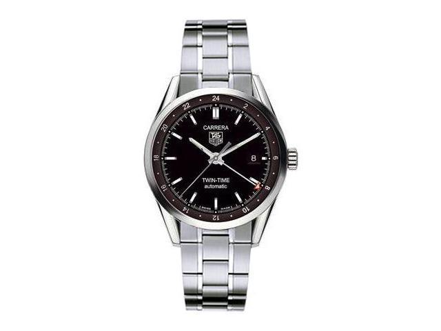Tag Heuer Carrera Twin-Time Automatic Mens Watch WV2115.BA0787