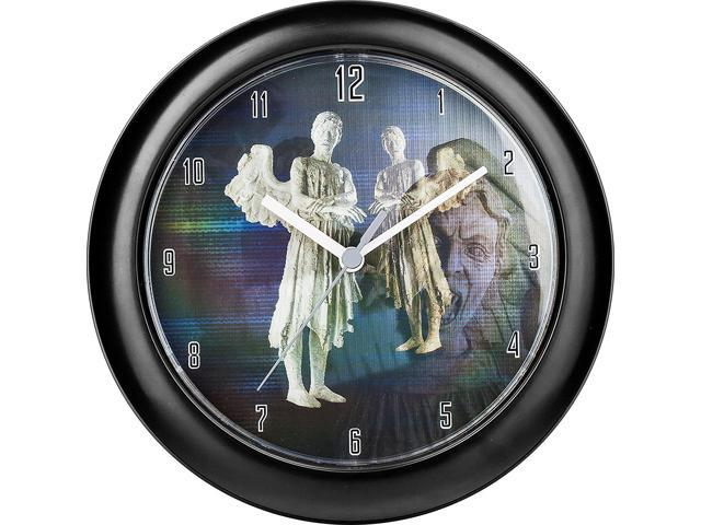 Doctor Who Lenticular Wall Clock Weeping Angel