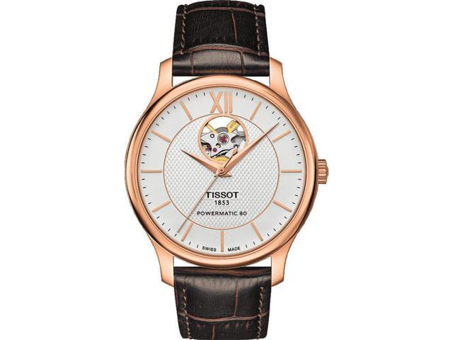Tissot Tradition Automatic Open Heart T063.907.36.