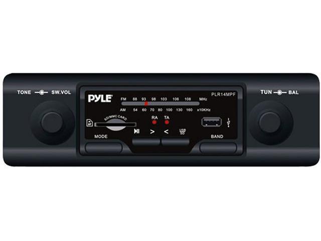 PYLE PLR14MPF USB/SD/MP3 AUX Car In Dash Receiver AM/FM