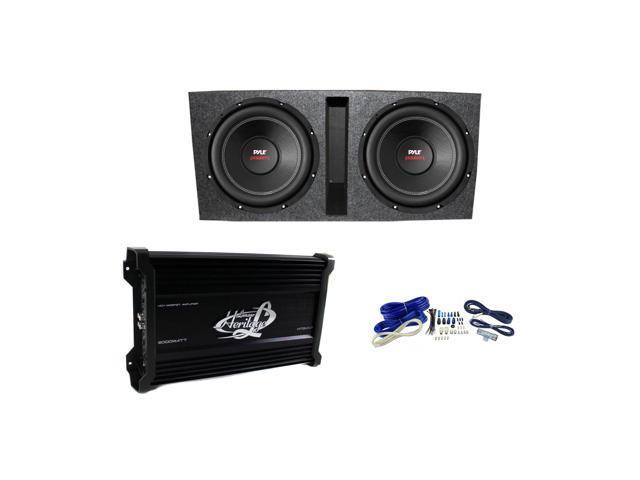 pyle 15 2000w subwoofer pair lanzar htg447 amplifier q power rh newegg com Pyle Home Subwoofer Pyle Pro Subwoofer