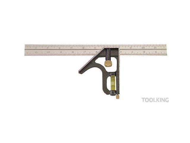 Johnson Level 400 12-Inch Zinc Head Combo Square