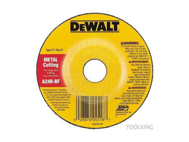 DeWalt DW4523 4-1/2-Inch General Purpose Metal Grinding Wheel
