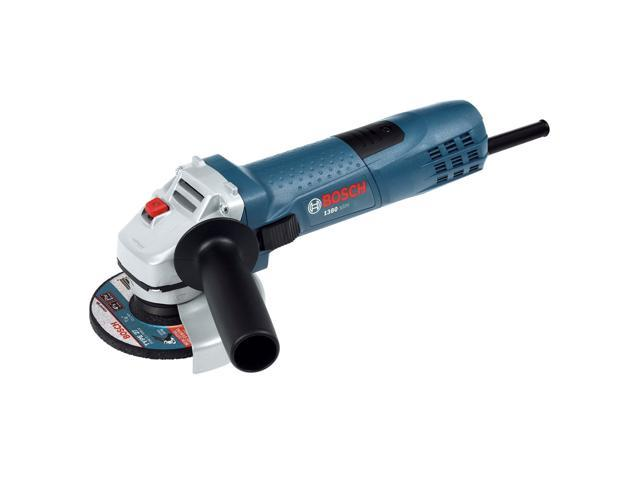 1380SLIM-K 4-1/2-in 7.5 Amp Small Angle Grinder with Case