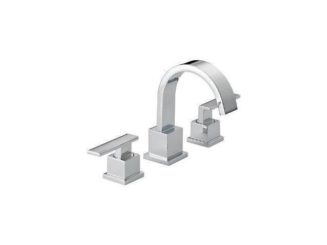 Delta 3553LF Vero Two Handle Widespread Lavatory Faucet, Chrome