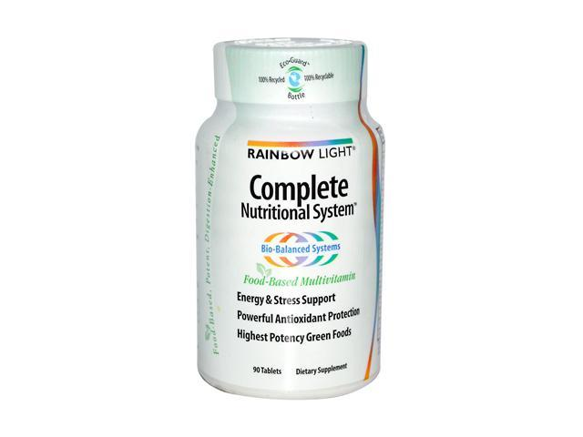 Complete Nutritional System - Rainbow Light - 90 - Tablet