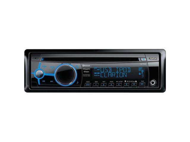 CLARION CZ702 Single-DIN In-Dash CD Receiver with Rear USB Port, Bluetooth(R) & SiriusXM(R) Ready