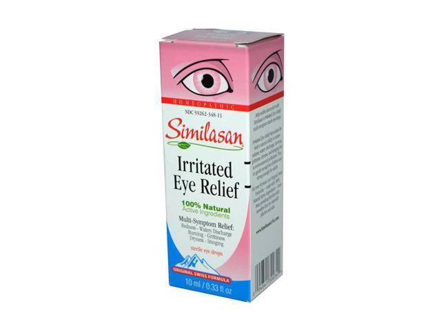 Similasan Irritated Eye Relief Drops, .33-Ounce Bottle