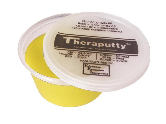 CanDo Theraputty 10-2611 Antimicrobial Exercise Material 3 Ounce Yellow X-Soft
