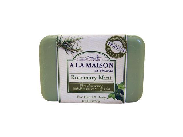 A la maison 844753 bar soap rosemary mint 8 8 oz for A la maison soap reviews
