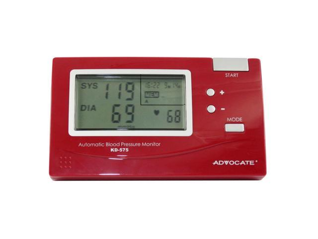 Advocate Kd-5750 L Arm Blood Pressure Monitor - Large Cuff
