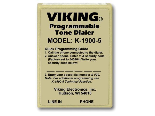 Viking Hot Dialer with Touch Tone
