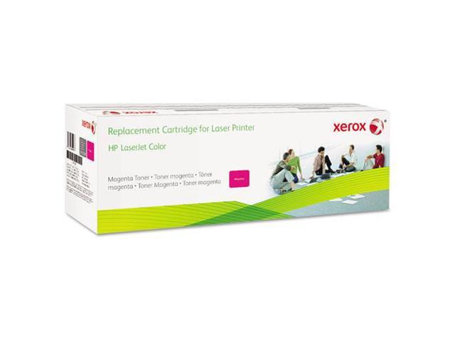 XEROX 006R03006 Toner Cartridge (OEM# HP CF033A) 12500 Pages Yield; Magenta