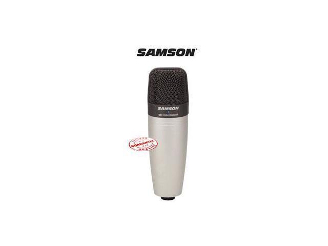 SAMSON LARGE DIAPHRAGM CONDENSER MICROPHONE C01