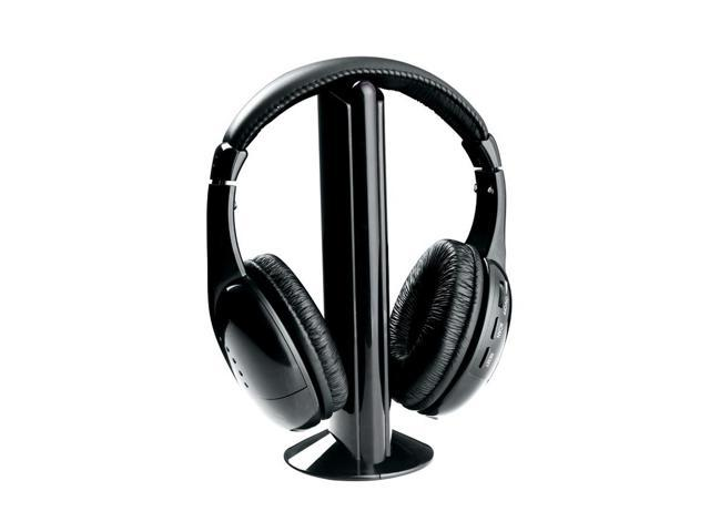 Naxa NE-922 Professional 5 In 1 Wireless Headphone System