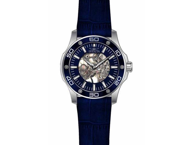 Invicta Men's 17259 Specialty Mechanical 3 Hand Blue Dial Watch