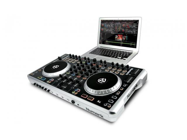 Numark N4 4 Deck Digital DJ Controller And Mixer