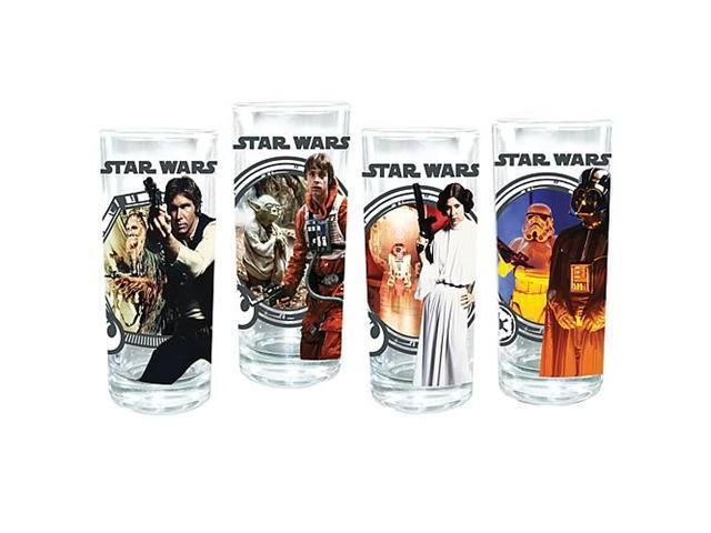 Star Wars Glasses 4-Pack