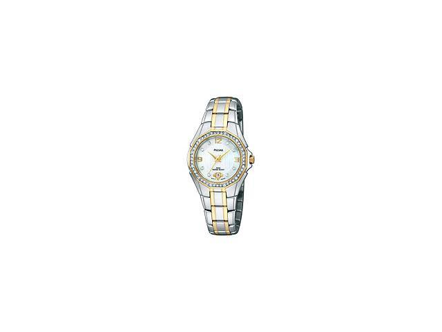 Pulsar by Seiko Two-tone Stainless Steel Womens watch #PXT798