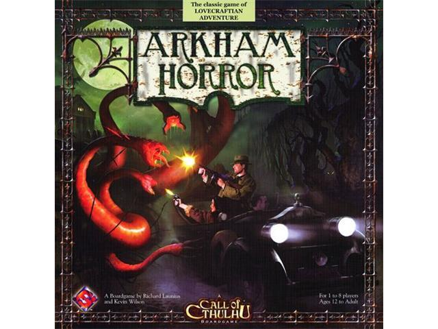 Call Of Cthulu Arkham Horror Board Game