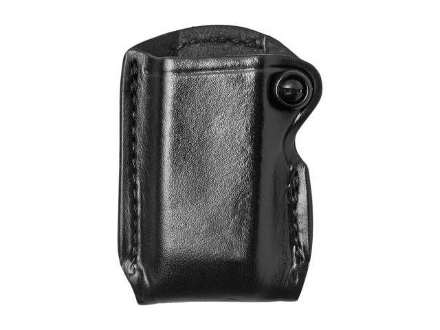 Gould & Goodrich  Single Mag Case w/Belt Loop, Black - Beretta 84 9mm