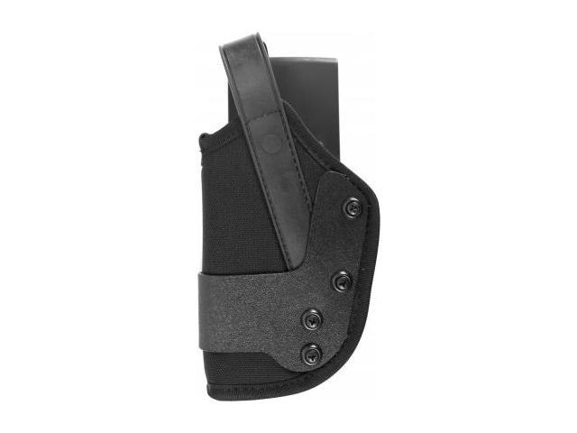 Uncle Mike's Dual Retention Jacket Slot Holster, Black, Left Hand - For Glock 20