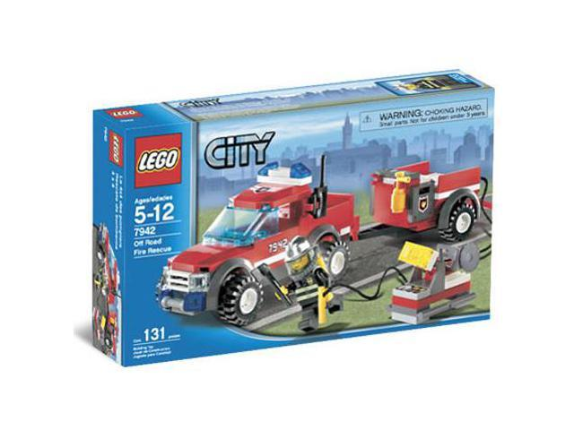 Lego City: Off-Road Fire Rescue #7942