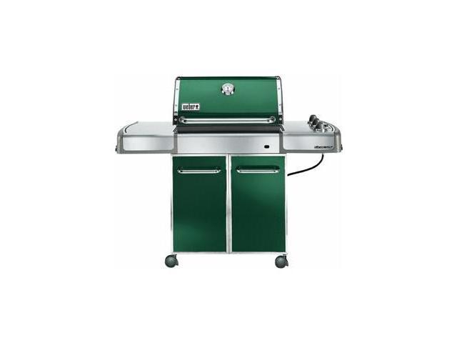Weber genesis e 310 propane grill 3747001 dark green for Weber grill danemark