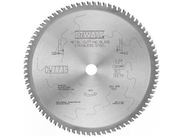 DW7747 14 in. 70 Tooth Ferrous Metal Cutting Circular Saw Blade