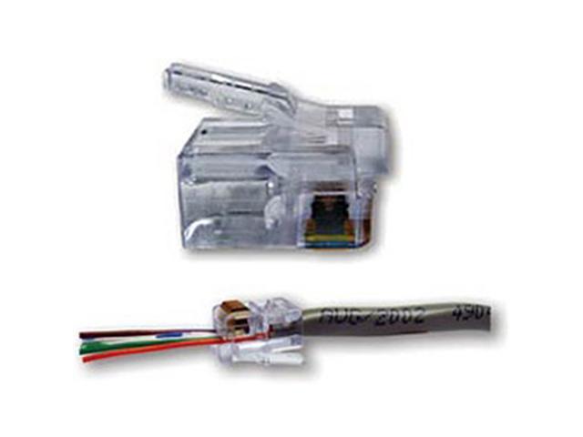 Platinum Tools EZ-RJ12/11 Connector (50 Pack) - 100026C
