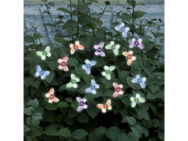 Smart Solar 3705MR20 Solar String Lights, Butterfly