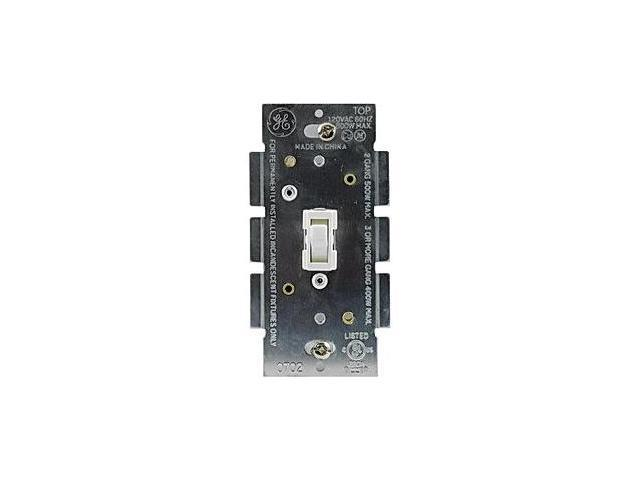 GE 18025 Toggle-Style On/Off Dimmer