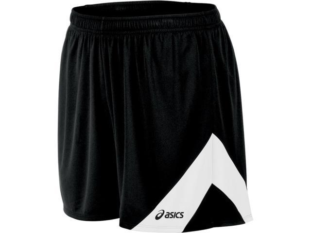 Asics 2016 Men's Break Through Track and Field Short - TF2350 (Black/White - M)