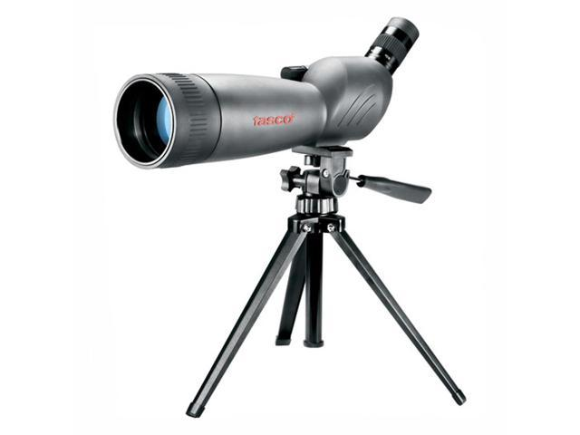 Tasco World Class 20-60x80 Angled Spotting Scope with Tripod & Carrying Case, Ne
