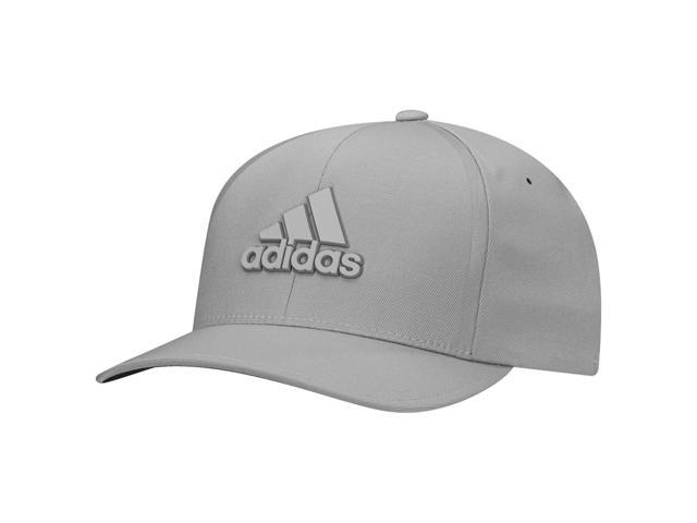 Adidas Golf 2017 Men's Tour Delta Textured Fitted Hat (Mid Grey/Black - S/M)
