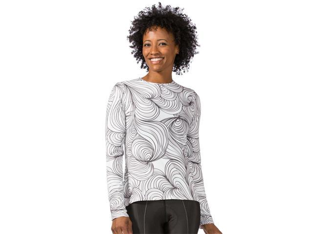 Terry 2017 Women's Soleil Long Sleeve Cycling Top - 630359 (Swirl/Gray - Small)